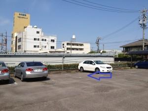 大府法律事務所の駐車場です。